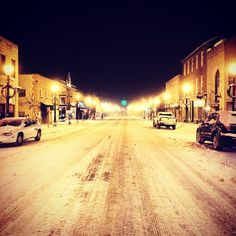 Main Street, Clarion on January 8, 2015.