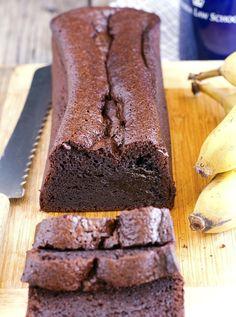 (Gluten-Free) Blender Chocolate Banana Bread