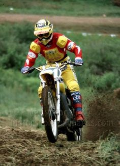 Bob Hannah charging at Unadilla.
