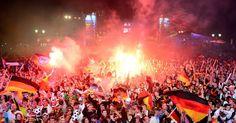 Centenas de milhares de alemães celebram o quarto título mundial   Umbuzeiro Online