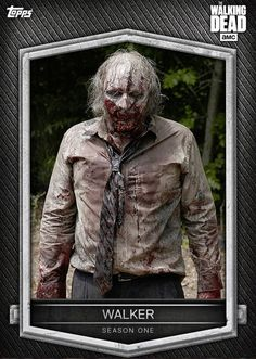 Walking Dead Pictures, Walking Dead Tv Show, Fear The Walking Dead, Trading Cards, Tv Series, Tv Shows, Zombies, Collector Cards