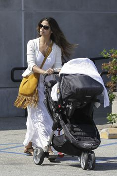 Camila Alves Steps Out With Baby Boy