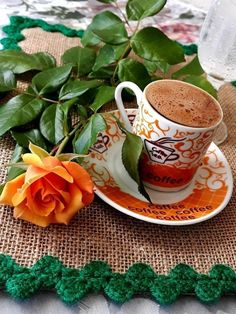 Coffee Gif, Coffee Break, Morning Coffee, Good Morning, Coffee Cups, Tea Cups, Coffee Flower, Breakfast Tea, Coffee Pictures