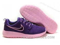 d0e497a21d3fe Cheap 2013 New Nike WMNS Roshe Running Shoes Wool Skin Comfort Casual  Purple For Sale