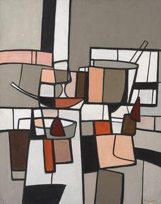 Michel Thompson (1917-2007), still life. via
