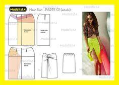 Neon skirt - PARTE 01(estudo)