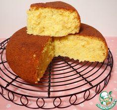Двойной имбирный кекс - кулинарный рецепт