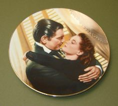 """MARRY ME SCARLETT Collector's Plate -75th Anniversary of Movie  """"Gone With The Wind"""" - Plate dated -1991 - Reduced from 18.50"""