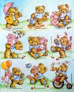 Gibson Hugglesbie bears stickers