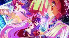 No Life No Game Anime Wallpaper 1920×1080