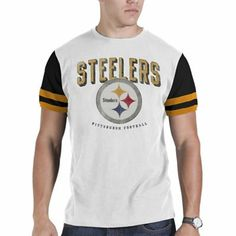 '47 Brand Pittsburgh Steelers Infield T-Shirt - White