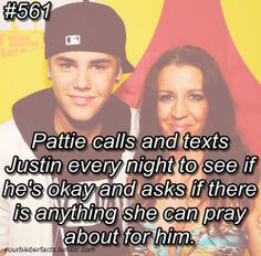 Justin Bieber's mother that's SOO sweet Justin Bieber Quotes, Justin Bieber Facts, Justin Bieber Pictures, I Love Justin Bieber, Just The Way, Are You The One, Scooter Braun, He Is My Everything, Dylan Sprouse