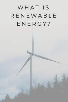 What is renewable energy? #renewableenergy #climateaction #renewables #sustainableliving | sustainablejungle.com #solarpanels,solarenergy,solarpower,solargenerator,solarpanelkits,solarwaterheater,solarshingles,solarcell,solarpowersystem,solarpanelinstallation,solarsolutions
