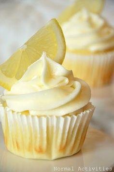Limoncello Cupcake Recipe...
