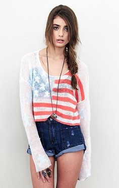 american flag sweater! I love when niall has so many american flag clothing and i have none
