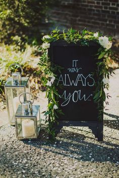 30 Epic Wedding Signs | WedPics - The #1 Wedding App