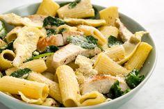 Chicken, Spinach, and Artichoke Rigatoni  - Delish.com