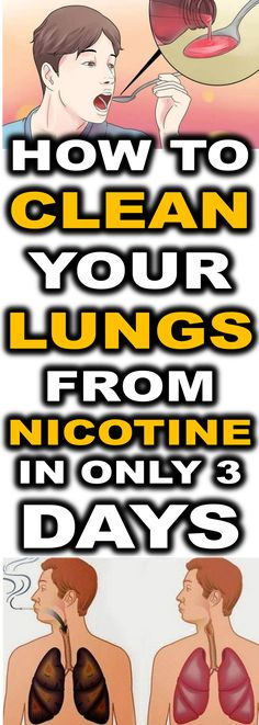 Do you know how many people (including children!) are killing themselves by smoking cigarettes?! With each day the number of people who are infected with lung cancer is growing. Don't wait any longer. Start cleaning your lungs with these methods today!...