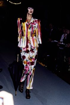 See the complete Jean Paul Gaultier Spring 1995 Ready-to-Wear collection.