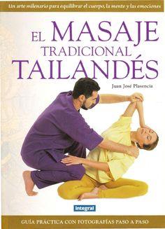 Libro sobre masaje tailandes