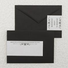 Terrific Typography - Envelope Icing | KSW Exclusive Invitations
