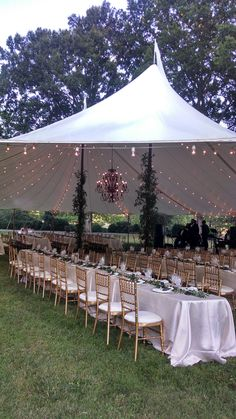 Sugarplum Tent Co. + Occasions Caterers + Crimson and Clover Floral Design = magic on our Croquet Lawn. September 2016.