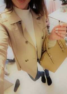 Beige Trenchcoat, Zara, Mantel, Girls, Fashion, Spinning Top, Other, Reach In Closet, Fashion Women