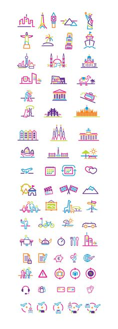 IELLO TRAVEL Icons by David Rafachicho