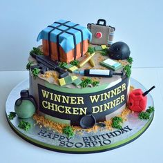 Pubg Cake Cakes In 2019 Cake Birthday Cake Themed Cakes