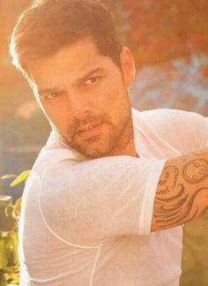 Ricky Martin,  need I say more.