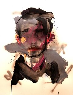 """Saatchi Online Artist: Lou ROS; Acrylic, 2011, Painting """"AG """""""