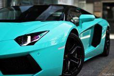 Light blue Lambo