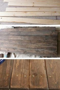 Invecchiare il legno: una ricetta homemade.