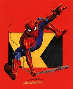 #Spiderman #Fan #Art. (Spiderman) By: David Michael Beck. (THE * 5 * STÅR * ÅWARD * OF: * AW YEAH, IT'S MAJOR ÅWESOMENESS!!!™) ÅÅÅ+