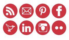 helpful social media icon tip