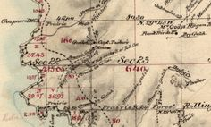 Section #2 of the 1866 Greenwood (Elk, CA) Survey