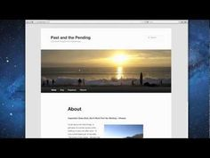 How to Use Wordpress (3 of 7) — Changing Themes and Appearance (using Bluehost)