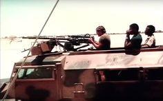 -Col. Eugene De Kock in Heavily Armed Koevoet Casspir !