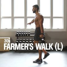 Fry fat and obliterate your obliques with this kettlebell workout from MH fitness director BJ Gaddour ( Perform 20 kettlebell swings then perform a suitcase carry holding the weight in your left arm for or for a y Fitness Workouts, Ace Fitness, Fun Workouts, At Home Workouts, Muscle Fitness, Gain Muscle, Fitness Nutrition, Muscle Men, Build Muscle