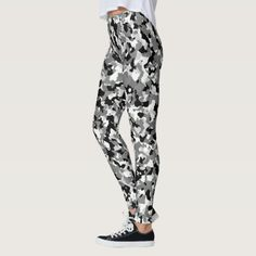 Black White High Contrast Camouflage Light Camo Leggings veterans day poem, activity day service ideas, gift ideas for veterans Gifts For Veterans, Camo Leggings, High Contrast, Leggings Fashion, Look Cool, Dressmaking, Ladies Fashion, Womens Fashion, Camouflage