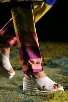 Dries van Noten Spring 2015 ready-to-wear #pfw #details #shoes