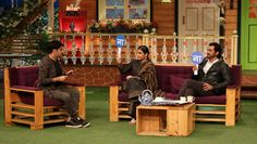 Arjun and Vidya had a gala time together on the show as they played some fun games with Kapil.