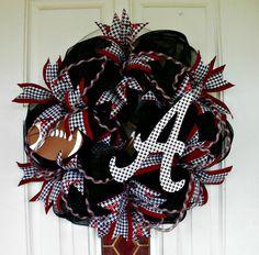 Hey, I found this really awesome Etsy listing at https://www.etsy.com/listing/202698388/alabama-wreath-crimson-tide-wreath