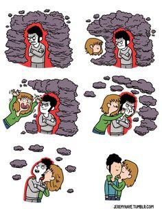 O amor supera tudo.
