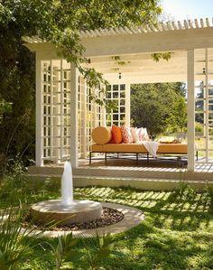 Decor Home Ideas Outdoor Living Areas with Gazebos