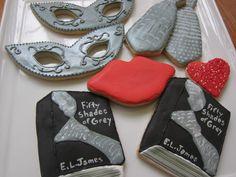 50 Shades of Grey cookies