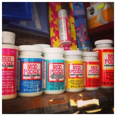 We have extended our range of Mod Podge - all sorts of types for crafting #modpodge #craftsupplies #shoplocal