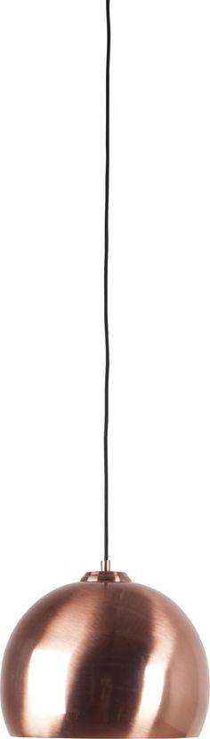 Hanglamp Big Glow - Koper - Zuiver