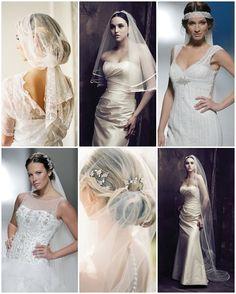 c98f28bfa9 Velos de Novia · Peinados recogidos con velo Bridal Looks