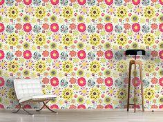 Design #Tapete Summer Splash Floral
